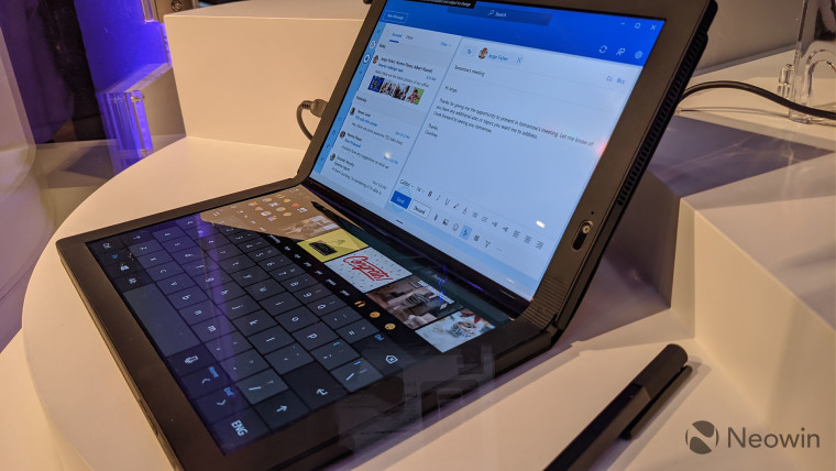 CES 2020: Lenovo shows off Thinkpad X1 with Windows 10X installed and running OnMSFT.com January 9, 2020