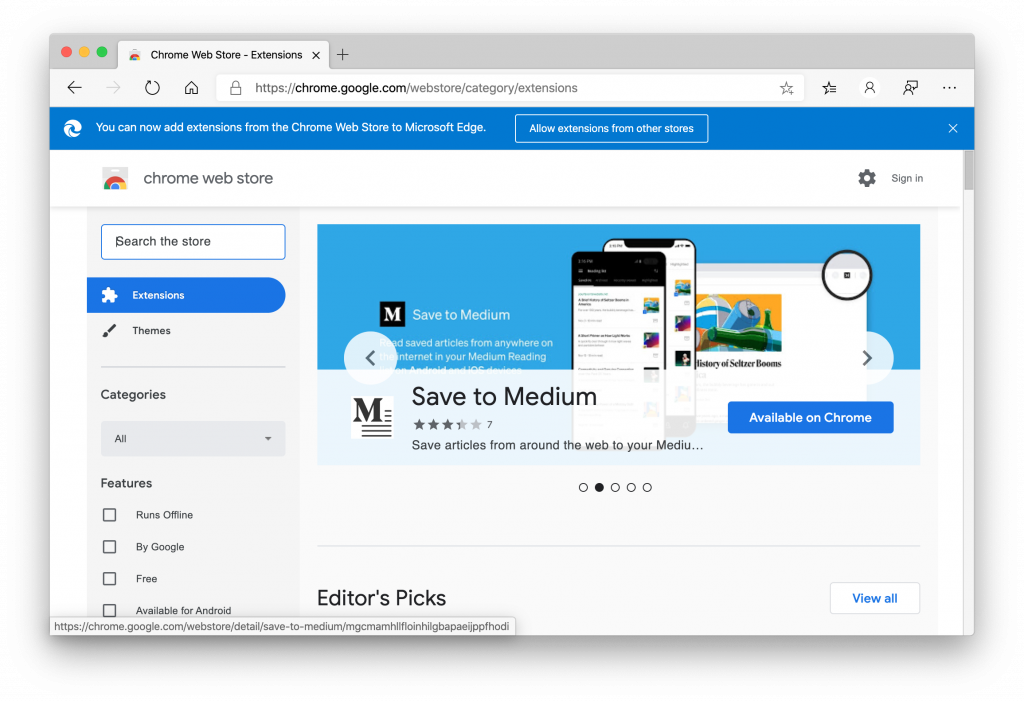 Microsoft's new Chromium-based Edge goes out of beta OnMSFT.com January 15, 2020