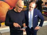 Months before release, satya nadella and panos panay are hyping up the surface neo and duo - onmsft. Com - january 13, 2020