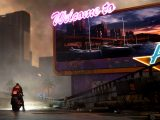 Cyberpunk 2077 video game on Xbox One and Xbox Series X