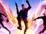Fortnite video game on xbox one, xbox series x, and windows 10