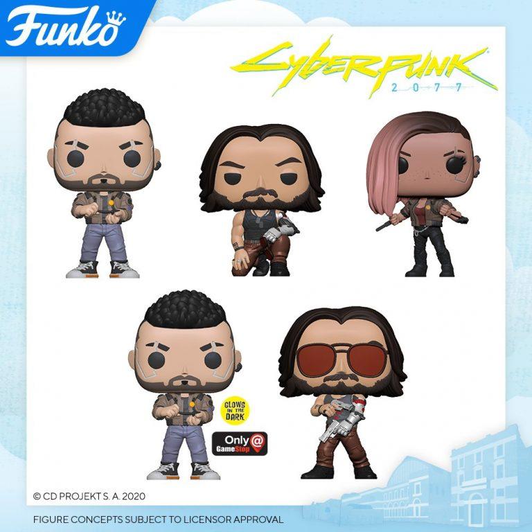 Cyberpunk 2077 Funko Pop figures