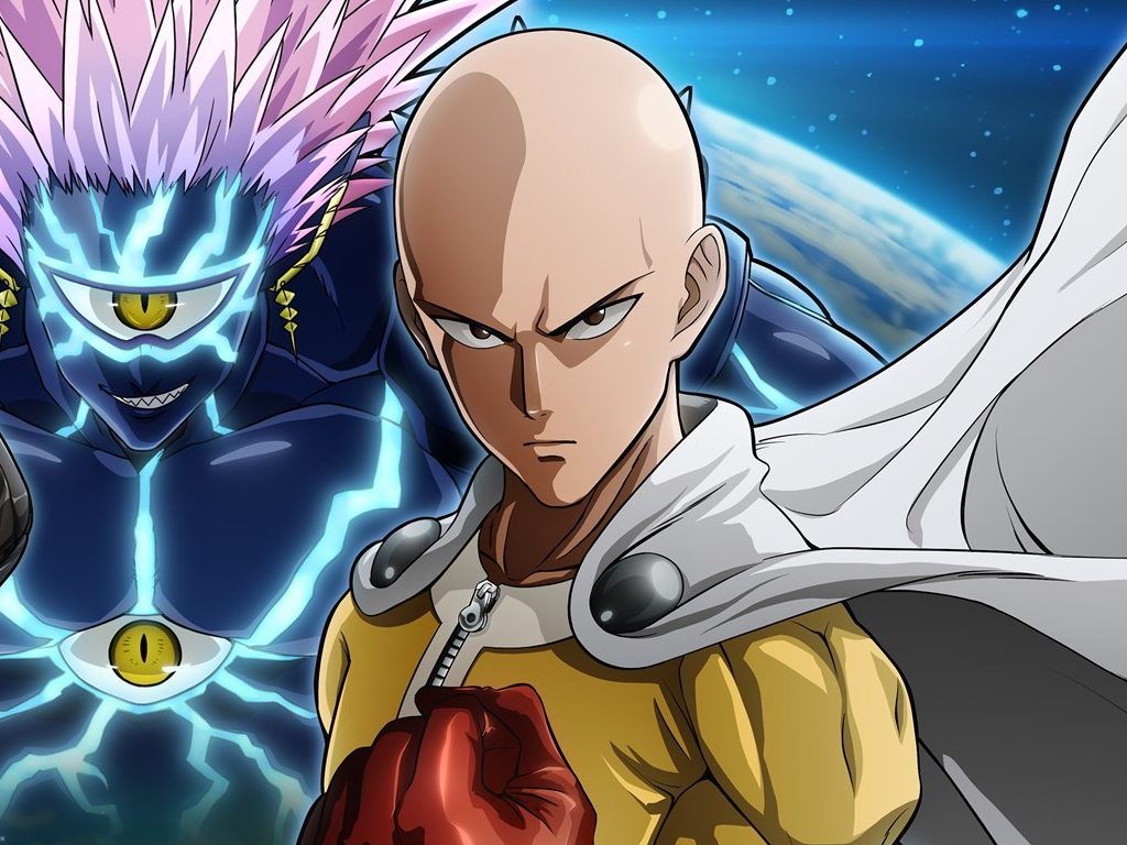 One Punch Man video game on Xbox One