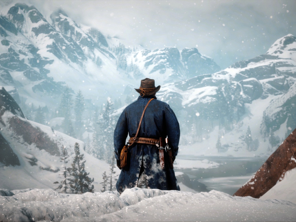 Red Dead Redemption II/Red Dead Online video game on Xbox One