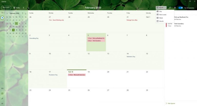 Hands on with the improved Windows 10 Calendar app: This is how it always should have been OnMSFT.com February 18, 2020