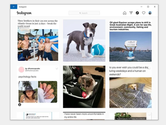 Windows 10 news recap: new instagram pwa now available, live tiles may be dropped from the start menu, and more - onmsft. Com - february 28, 2020