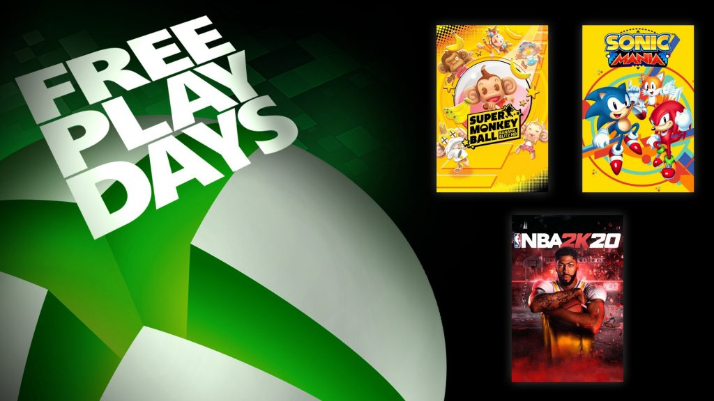 Microsoft, Xbox, Xbox One, Free Play Days