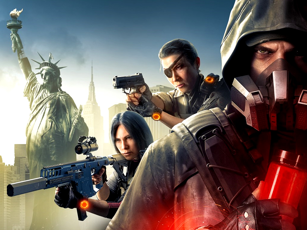The Division 2: Warlords of New York Edition video game on Xbox One consoles
