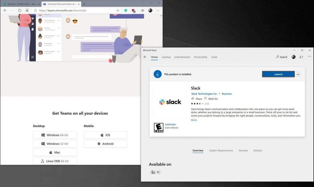 How to migrate from Slack to Microsoft Teams, and take your data with you OnMSFT.com August 4, 2020