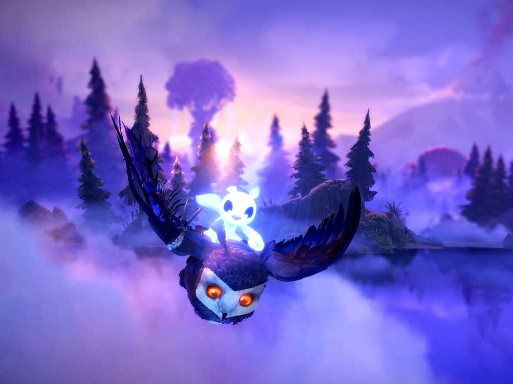 Ori and the Will of the Wisps video game on Xbox One and Windows 10
