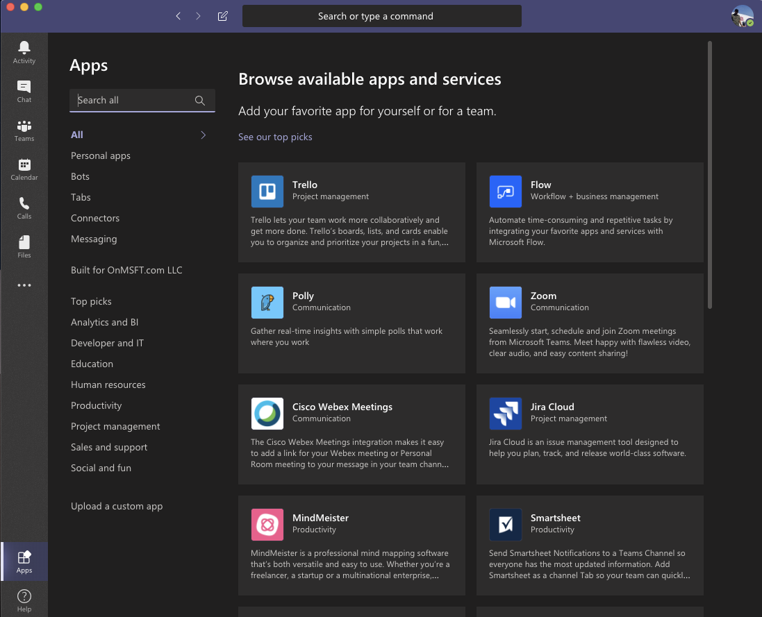 Top 5 ways to customize Microsoft Teams to make it your own OnMSFT.com April 7, 2020