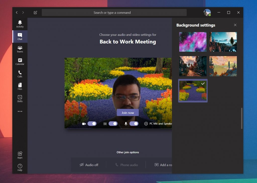 How to (unofficially) set your own custom background image in Microsoft Teams [Updated, now officially possible] OnMSFT.com April 21, 2020
