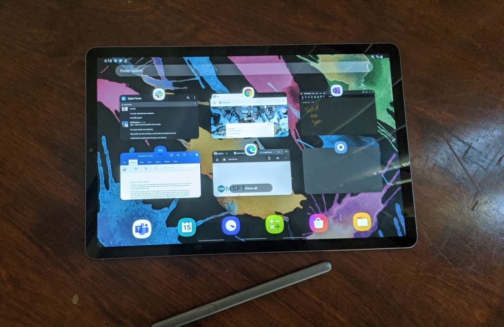 Samsung's android powered galaxy tab s6 review: whetting my appetite for the surface duo? - onmsft. Com - april 23, 2020