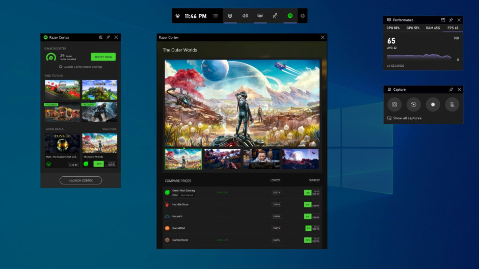 Xbox Game Bar for Windows 10 is becoming much more versatile with new widgets from Razer, XSplit, and Intel OnMSFT.com April 7, 2020