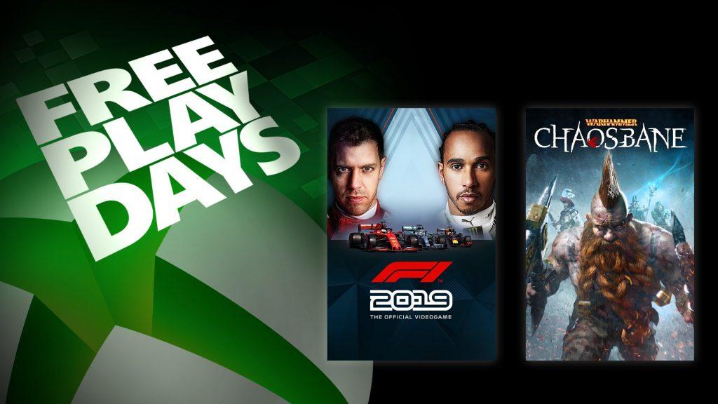 Microsoft, Xbox, Xbox One, Free Play Days