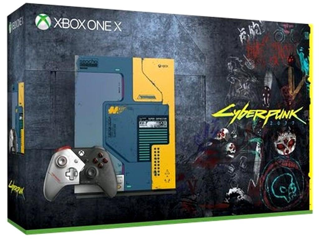 Cyberpunk 2077 Xbox One X console