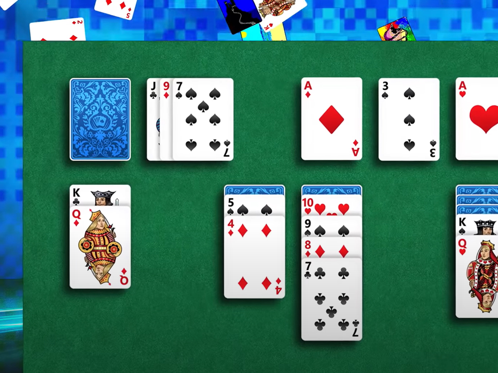 Microsoft Solitaire Collection video game on Windows 10, iPhone, and Android