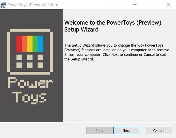 PowerToys Installer