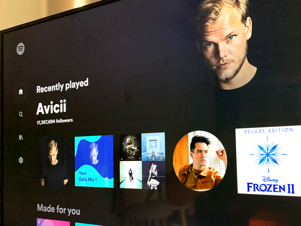 Spotify Music for Xbox app for Xbox One consoles
