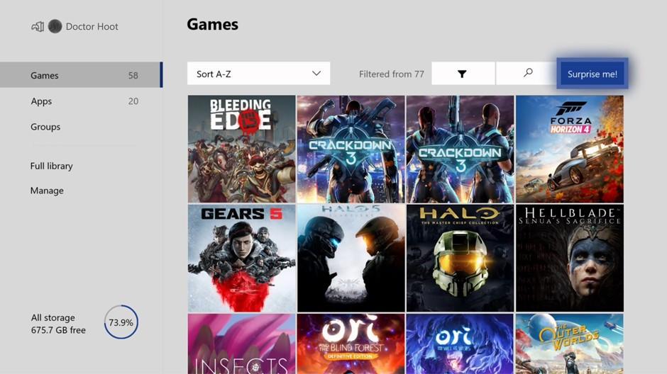 Xbox one surprise button
