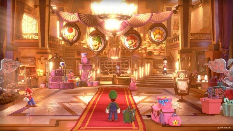 Luigi mansion microsoft teams backgrounds