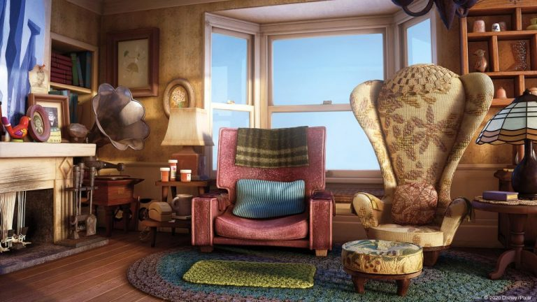 Pixar Movies Microsoft Teams backgrounds