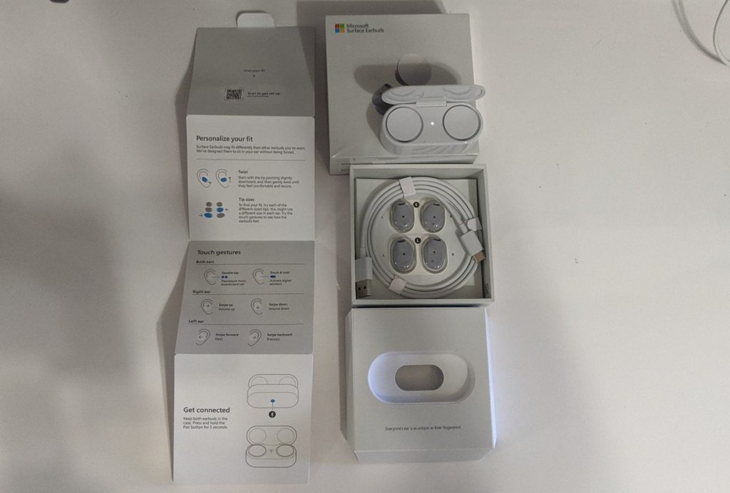 Microsoft surface earbuds unboxing and quick impressions: comfy and unique - onmsft. Com - may 15, 2020