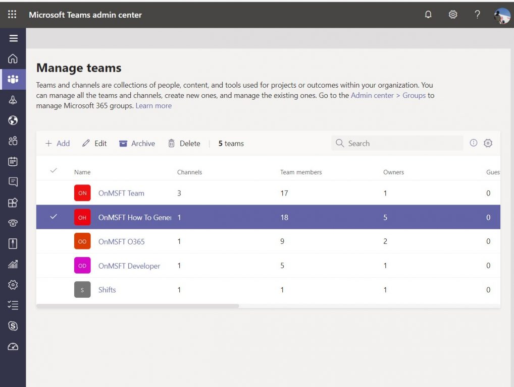How to delete or archive a team in Microsoft Teams OnMSFT.com May 27, 2020