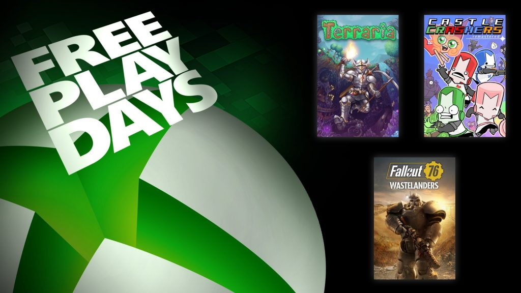 Microsoft, Xbox, Free Play Days
