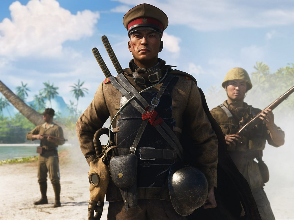 Battlefield V video game on Xbox One consoles