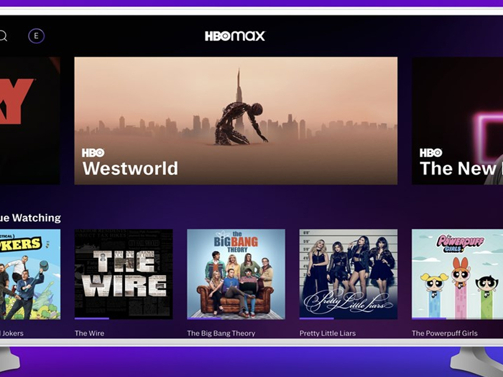 HBO Max app on Xbox One