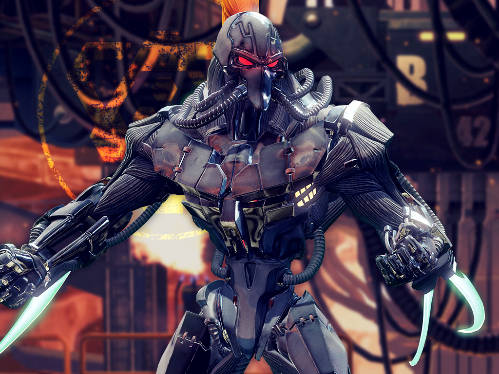 Fulgore in Killer Instinct video game on Xbox One and Windows 10