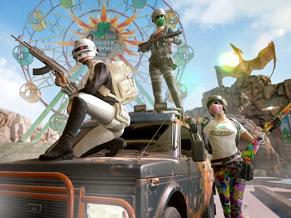 PlayerUnknown's Battlegrounds PUBG video game on Xbox One consoles