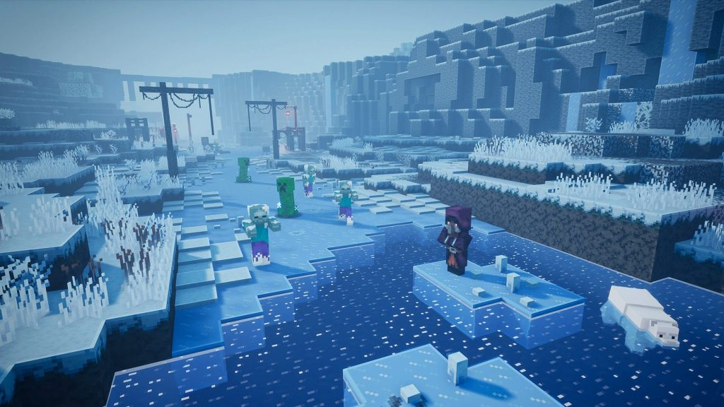 Creeping Winter, the latest Minecraft Dungeons DLC, coming September 8th along with free content update OnMSFT.com August 11, 2020
