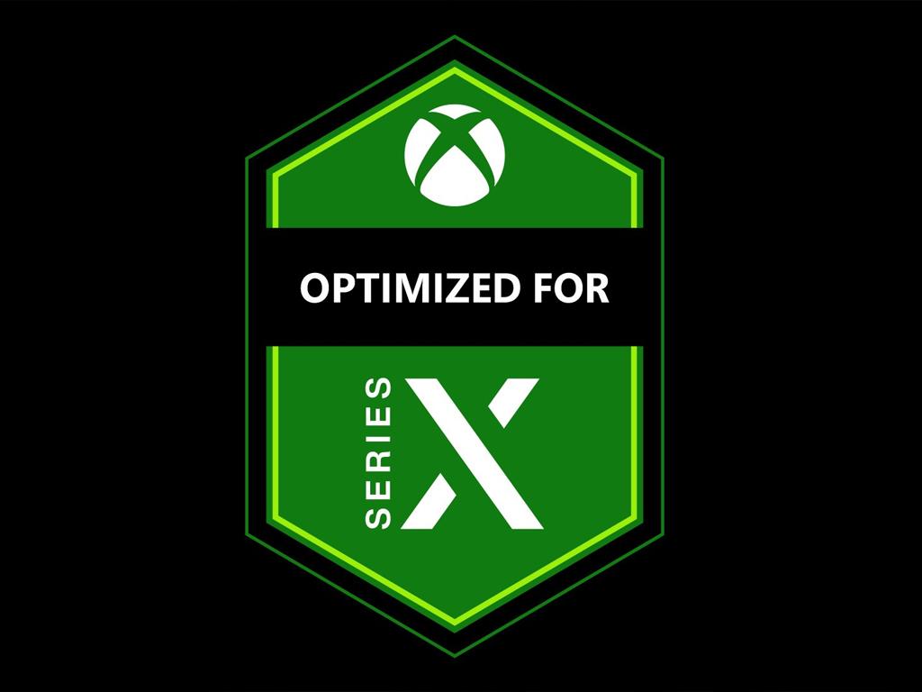 Xbox Series X Optimized badge
