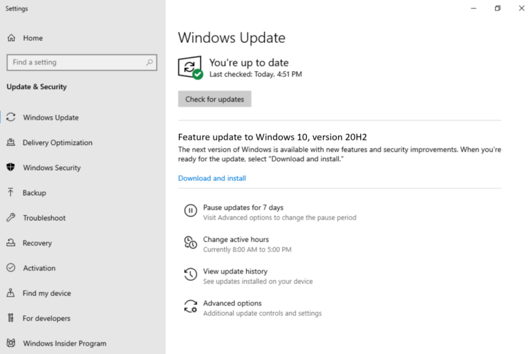 Microsoft announces windows 10 20h2 update, with a first build available for insiders - onmsft. Com - june 16, 2020
