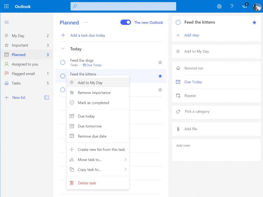 How to use To Do in Outlook with Microsoft 365 for your productivity advantage OnMSFT.com June 23, 2020