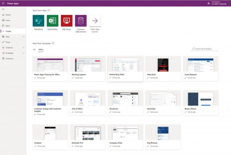 Getting started with microsoft's power platform for low code business app development - onmsft. Com - february 2, 2021