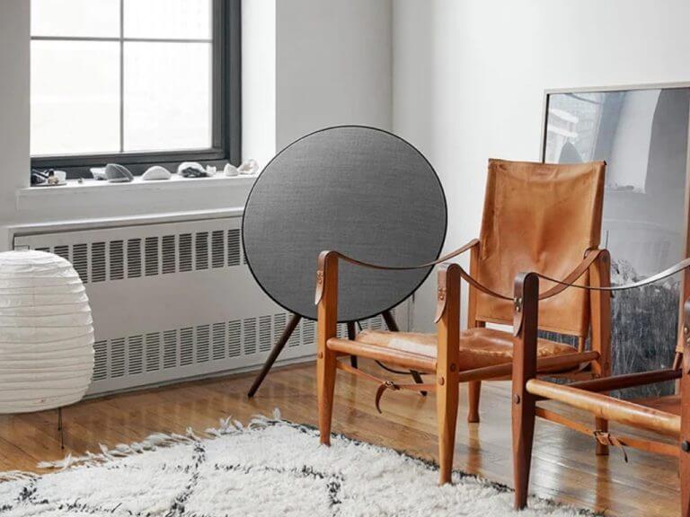 Bang & Olufsen Beoplay speaker.