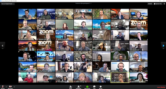 Microsoft teams will get zoom's killer feature and show 49 meeting participants on screen - onmsft. Com - june 3, 2020