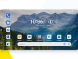 Microsoft launcher landscape mode