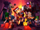 Minecraft dungeons video game soundtrack cover.