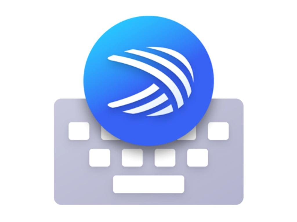 Microsoft SwiftKey Keyboard app icon on iOS.