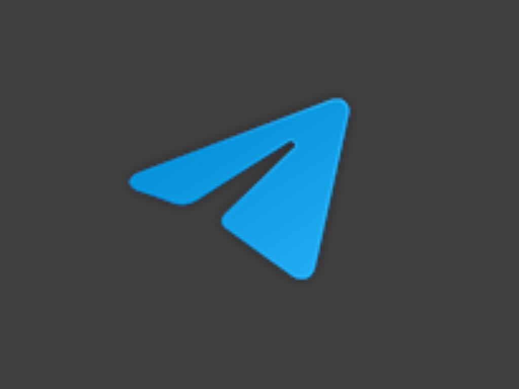 Windows 10 Unigram app icon.