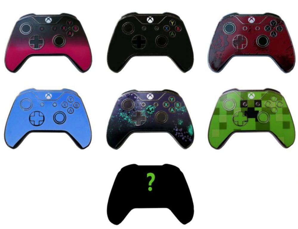 Xbox controller pins.