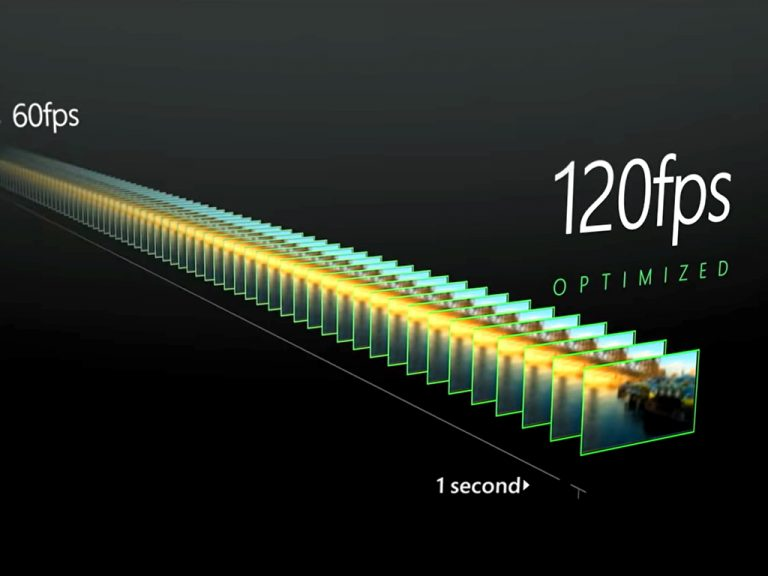 Xbox series x 120fps.