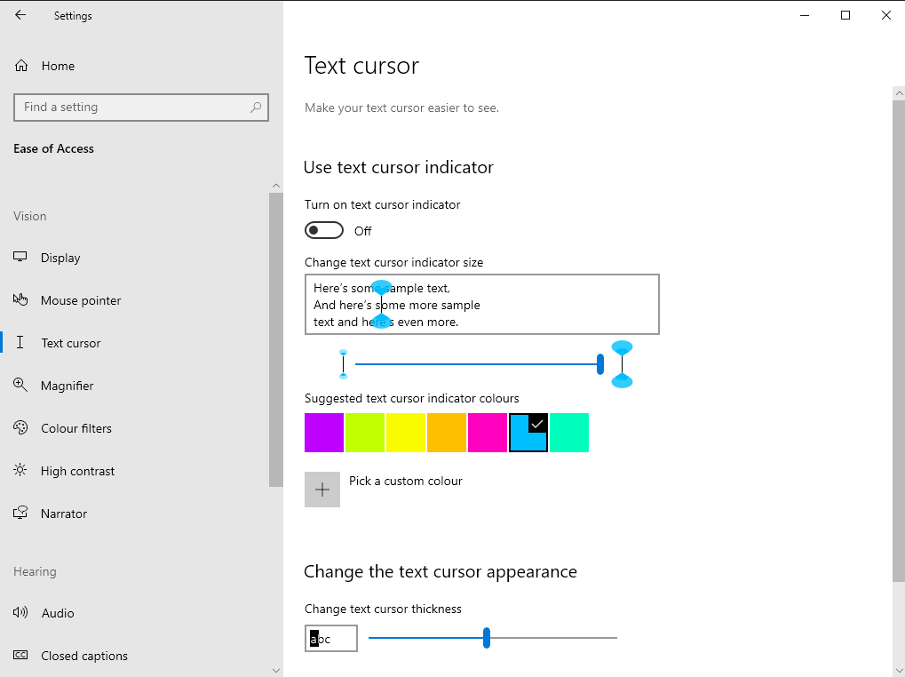 How to customise the text input cursor in Windows 10 OnMSFT.com July 13, 2020