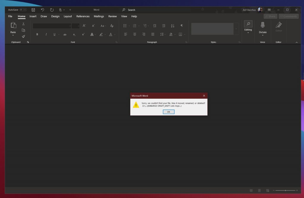 Common microsoft word problems and how to fix them - onmsft. Com - july 28, 2020