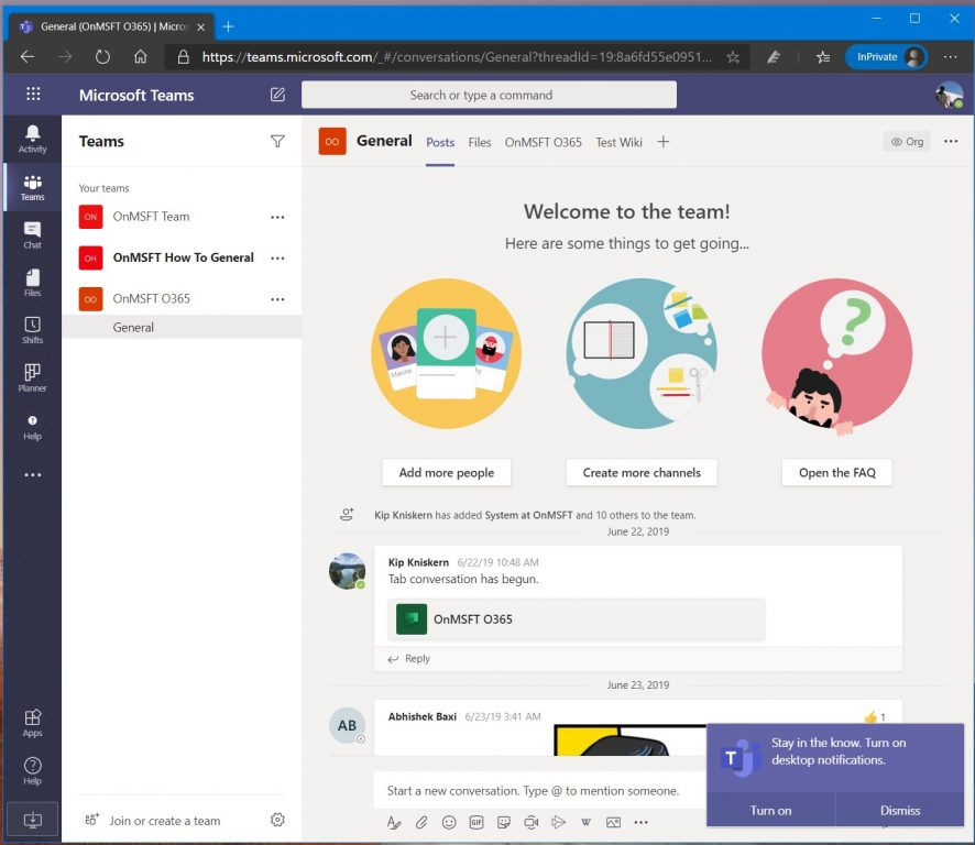 How to run multiple instances of Microsoft Teams with two different accounts OnMSFT.com August 19, 2020