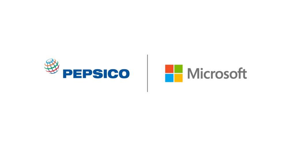Pepsico Microsoft partnership